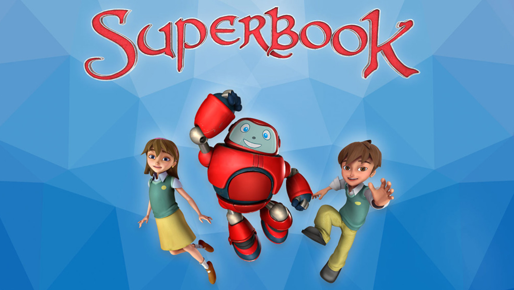 New Superbook Episodes Available Now!