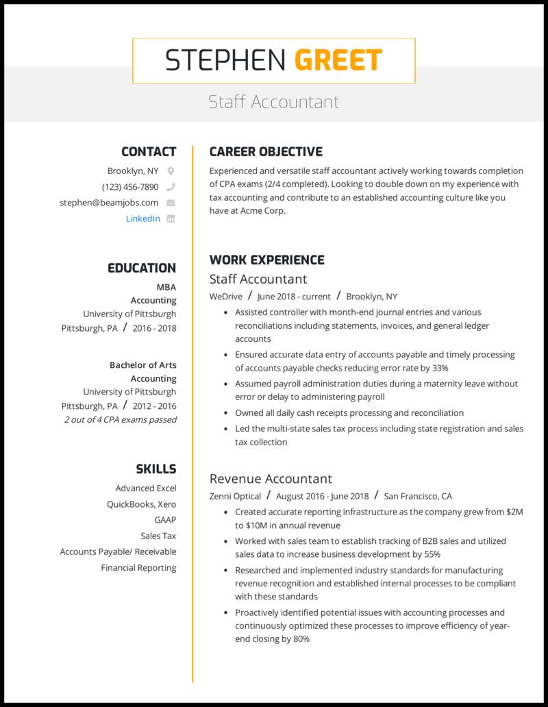 Format resume accounting job modernization thesis