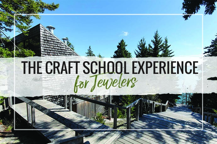 Traditional Craft Schools are dotted around the country. The Craft School experience is designed to be a brief stay at a retreat campus wher