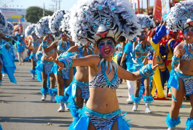 Colombia travel is full of fun festivals