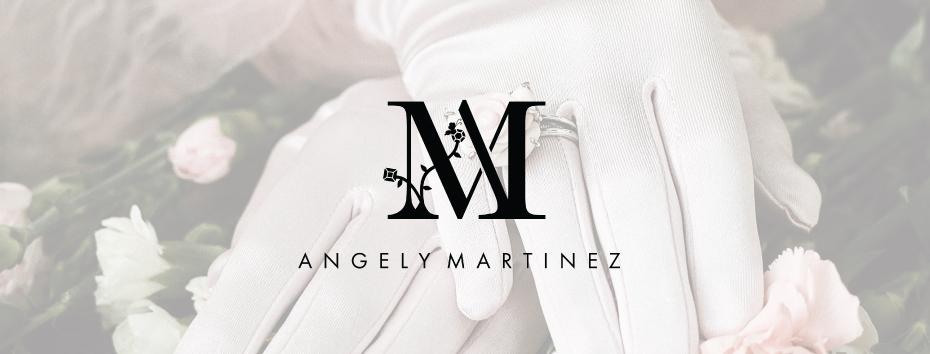 Angely Martinez lettermark logo