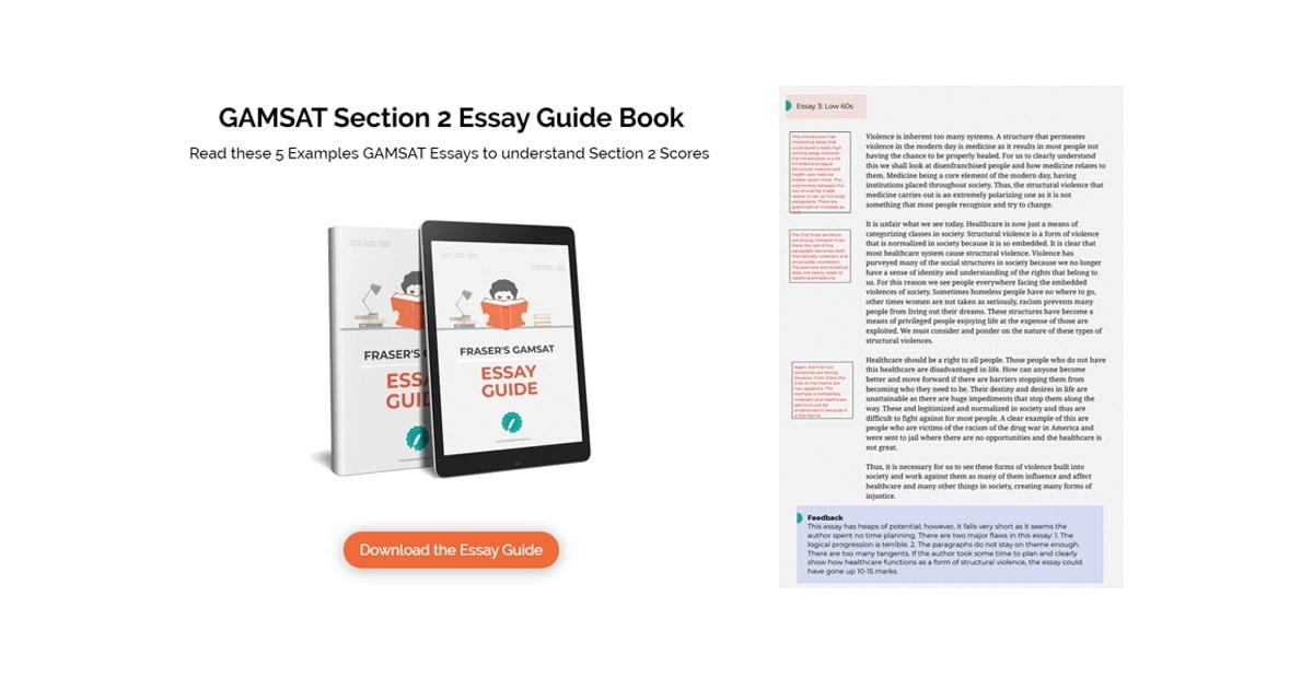 gamsat essay guide