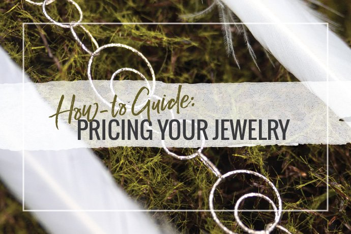 Pricing your jewelry can be one of the trickiest aspects to running a jewelry business. We've created a guide to help you make sure you are not only covering your costs, but making a living while doing what you love.