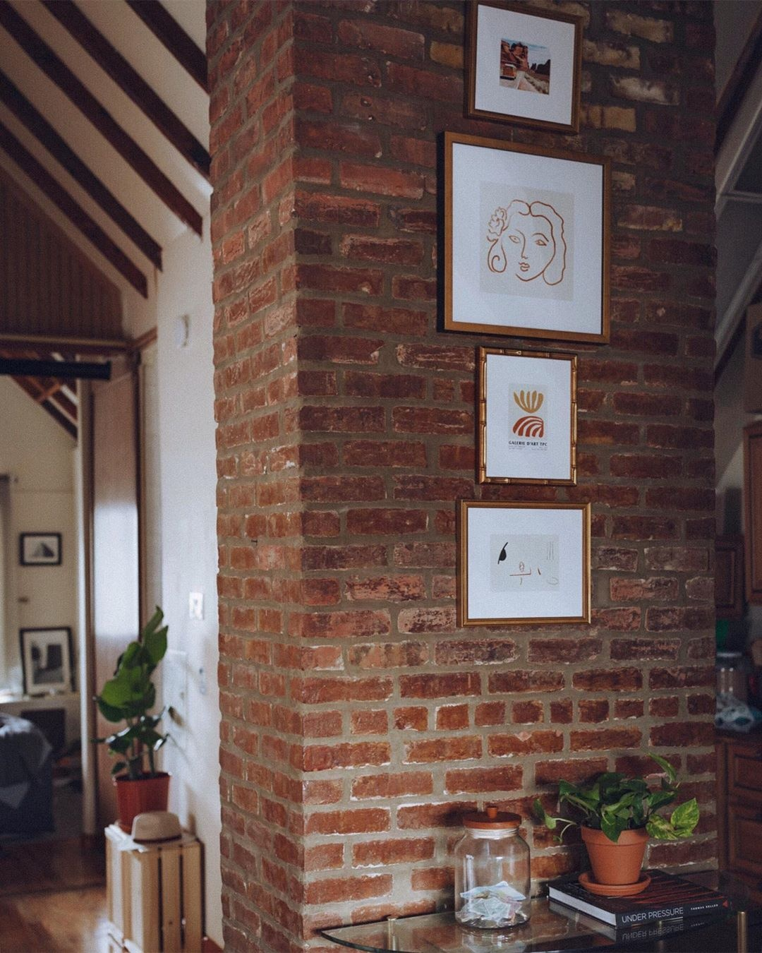 How To Hang Frames On Brick Framebridge Guide