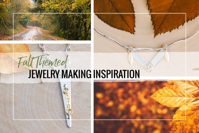 Get inspired with these project ideas for fall jewelry making. Explore color, shapes and techniques with these fresh ideas.