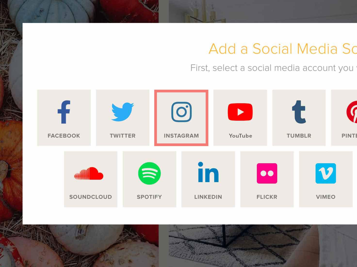 Instagram aggregator social feed