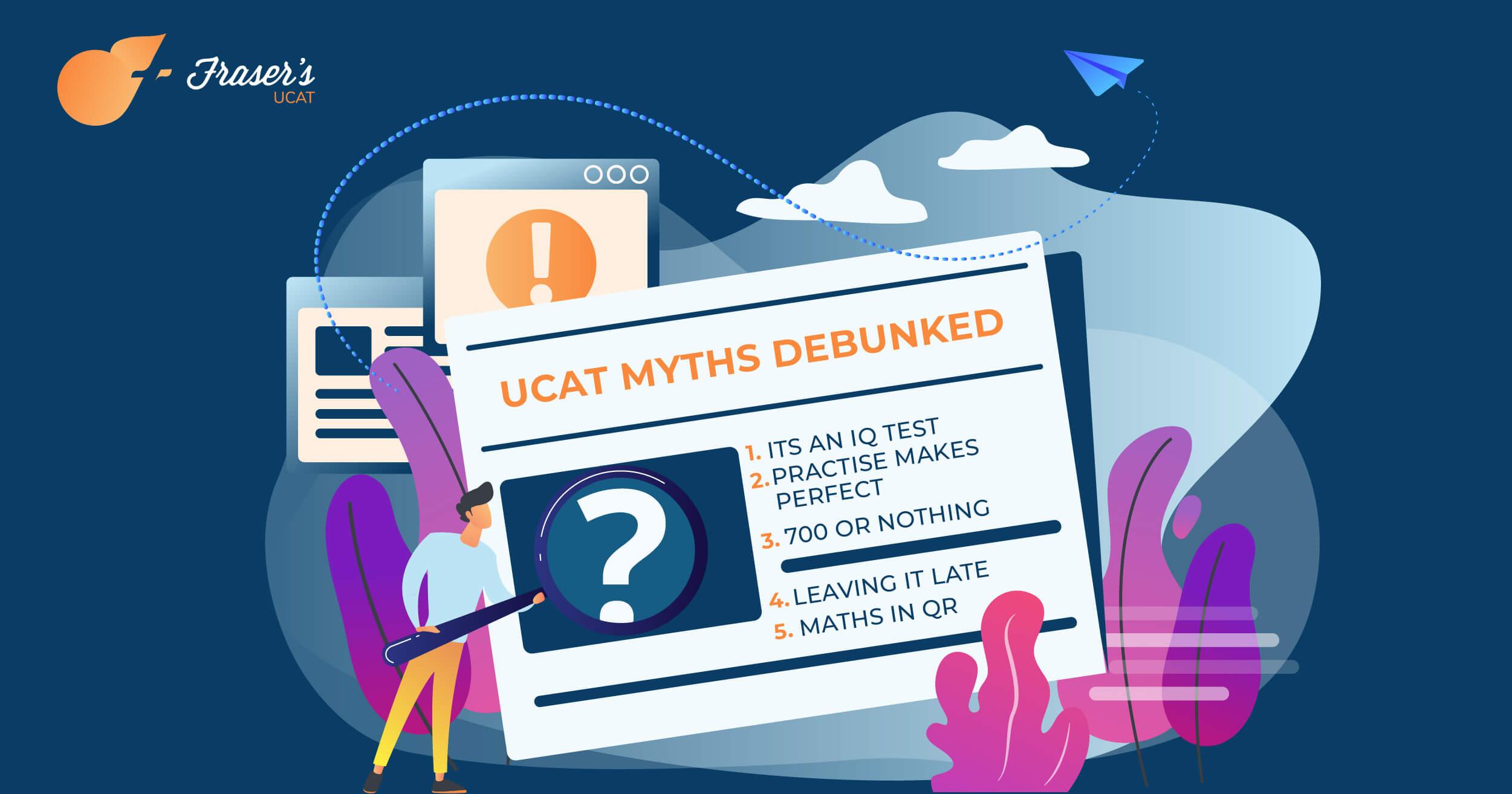 ucat myths debunked (ucat tips)