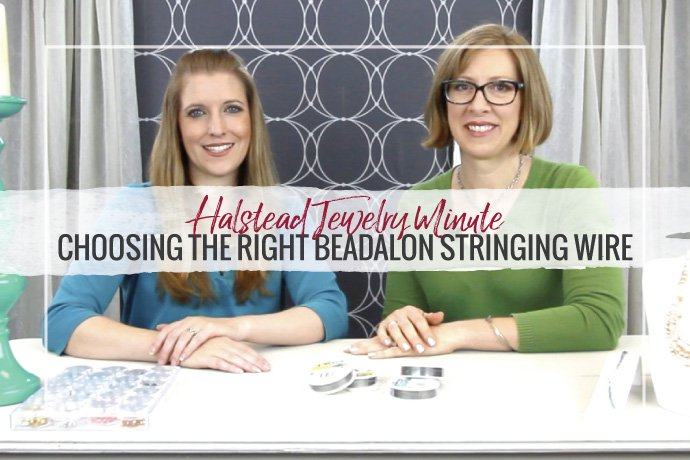 What's the difference between 19 strand and 49 strand beading wire? Find out by watching our brand new video on selecting the right Beadalon stringing wire.