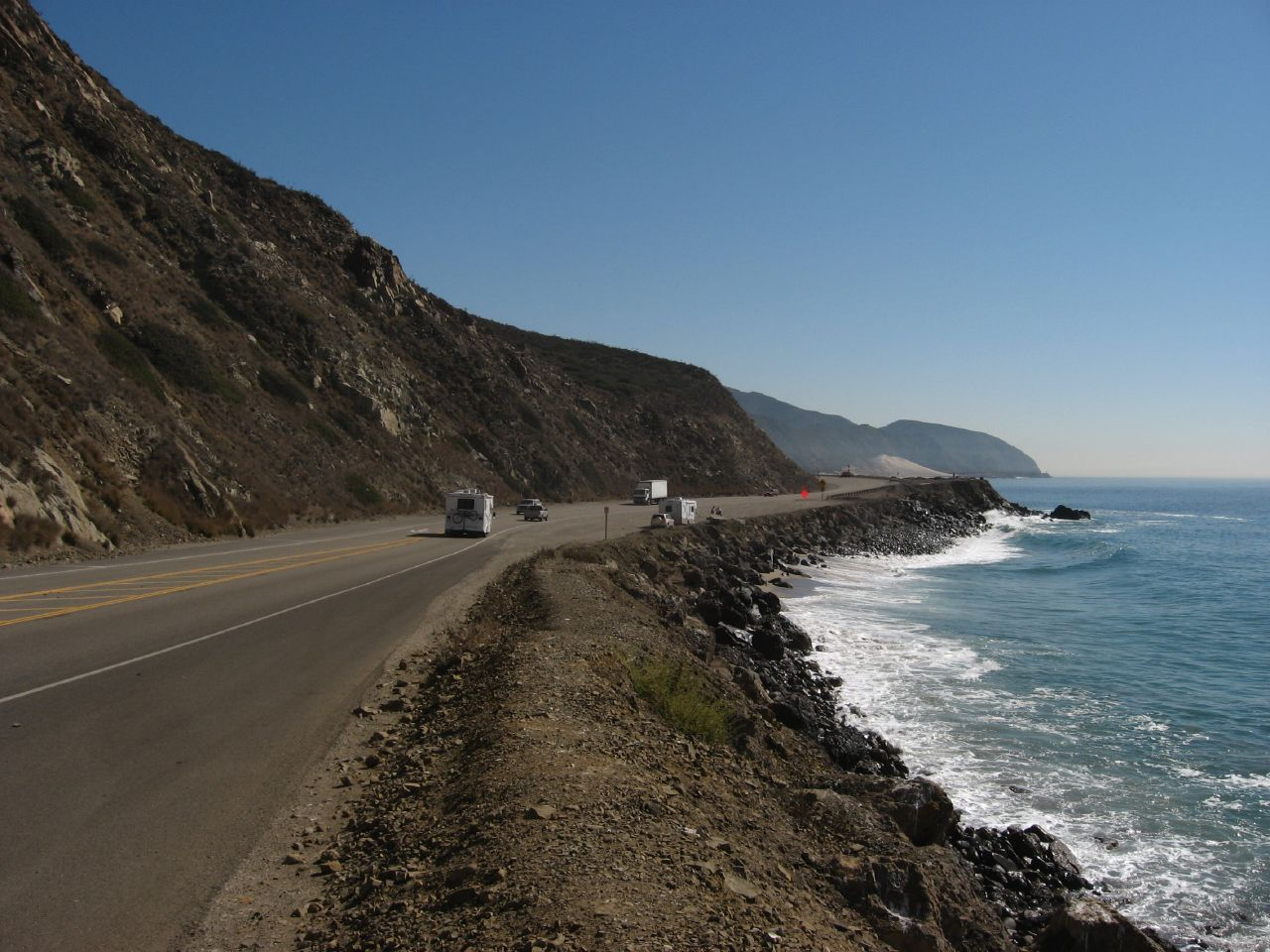 The gorgeous Pacific Coast Highway is an amazing place to visit in LA