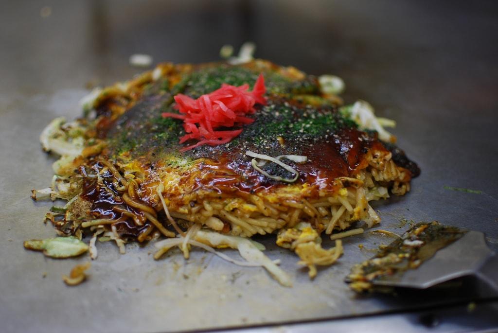 Okonimiyaki in Hiroshima is a Japanese destination for foodies