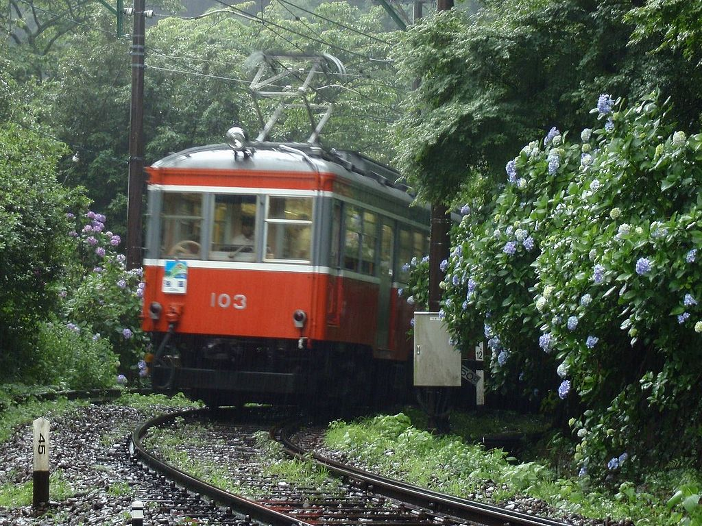 Taking the Tozan Train is one of the things to do in Hakone
