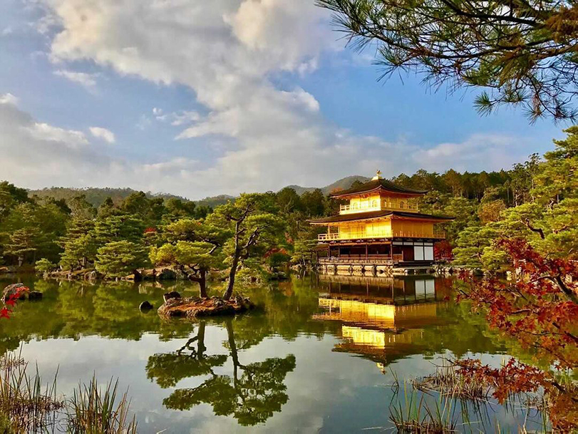 photo of temple in Kyoto