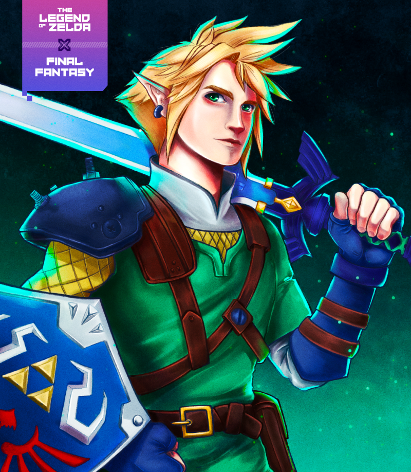 Nearly 1,000 games would play a Legend of Zelda and Final Fantasy crossover game