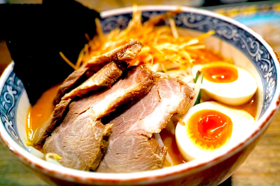 Ramen in Tokyo, one of the best cities to visit in Japan