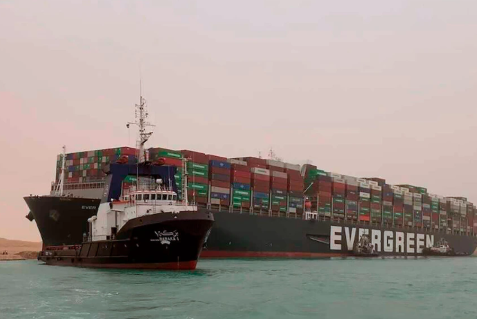 Ever Given Suez Canal Blockage 2021