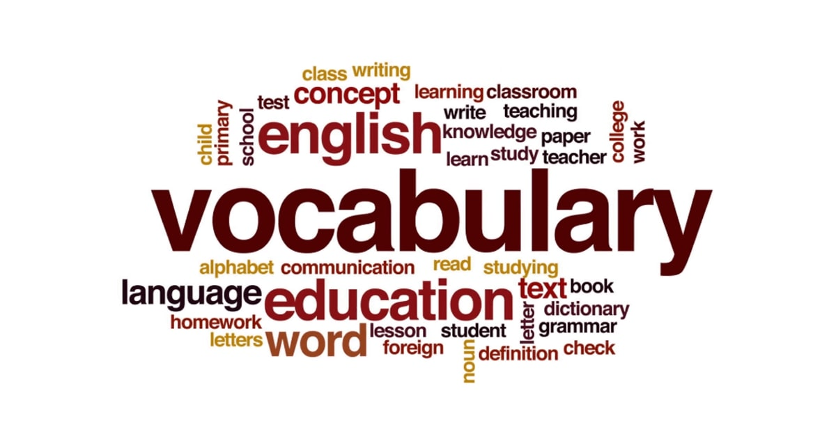 Section 1 Vocabulary Tool