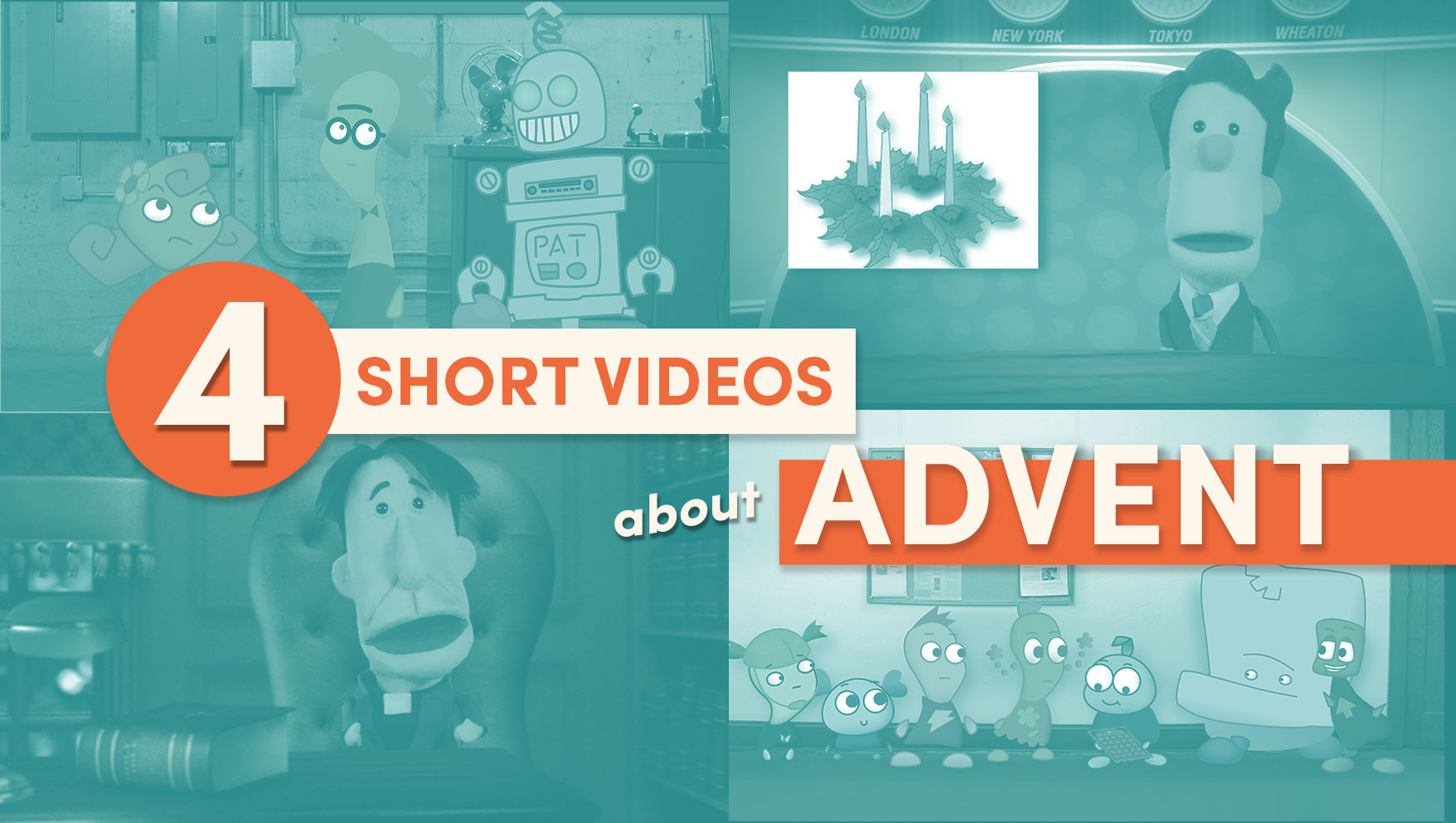 4 Short Videos About Advent