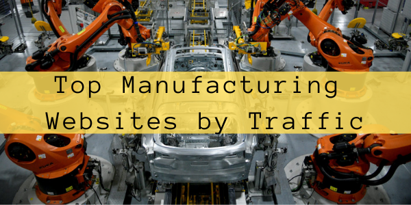 Top Manufacturing Websites by Traffic