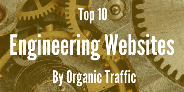 Top 10 Engineering Websites By Organic Traffic