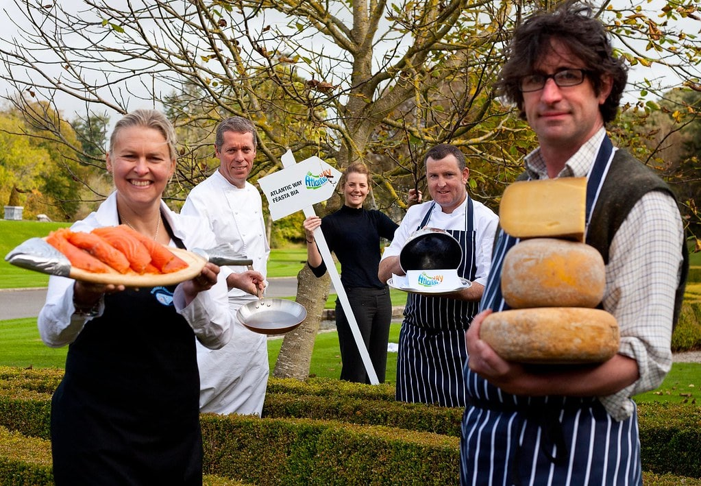 Eating along the Burren Food Trail is a great thing to do in Galway Ireland