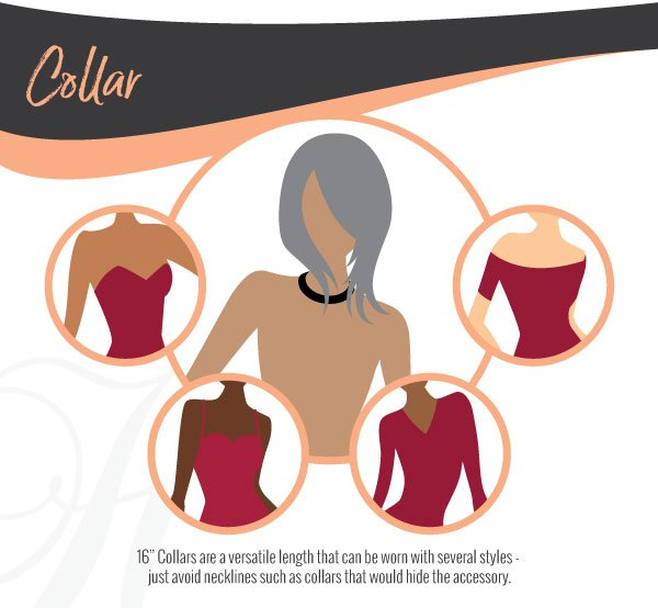 Collar Necklace Length