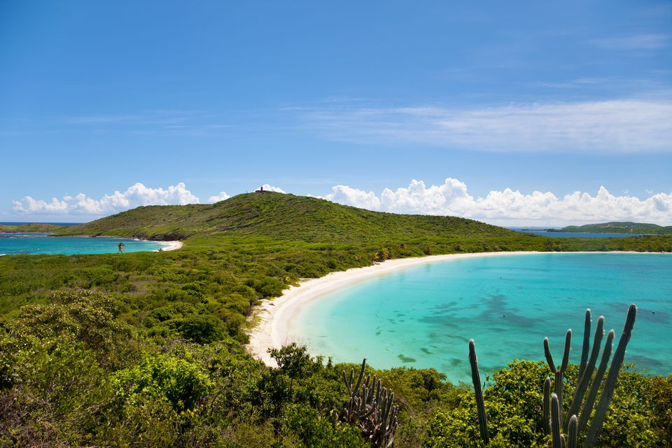 Tanning at Isla Culebra is a must do in Puerto Rico