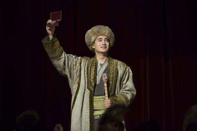 Алматы қаласында «Әмiре» фильмне арнайы көрсетілім өтті