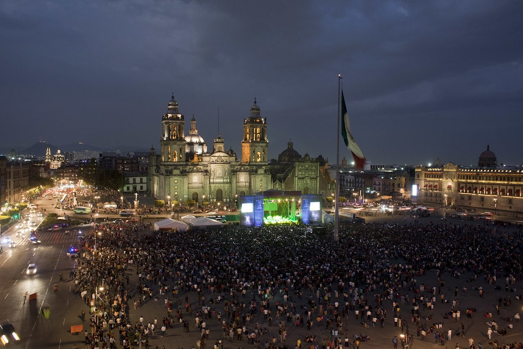 El Zocalo best places to visit in Mexico City square