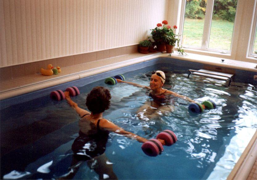 Aquatic therapy exercise for multiple sclerosis in the Endless Pool