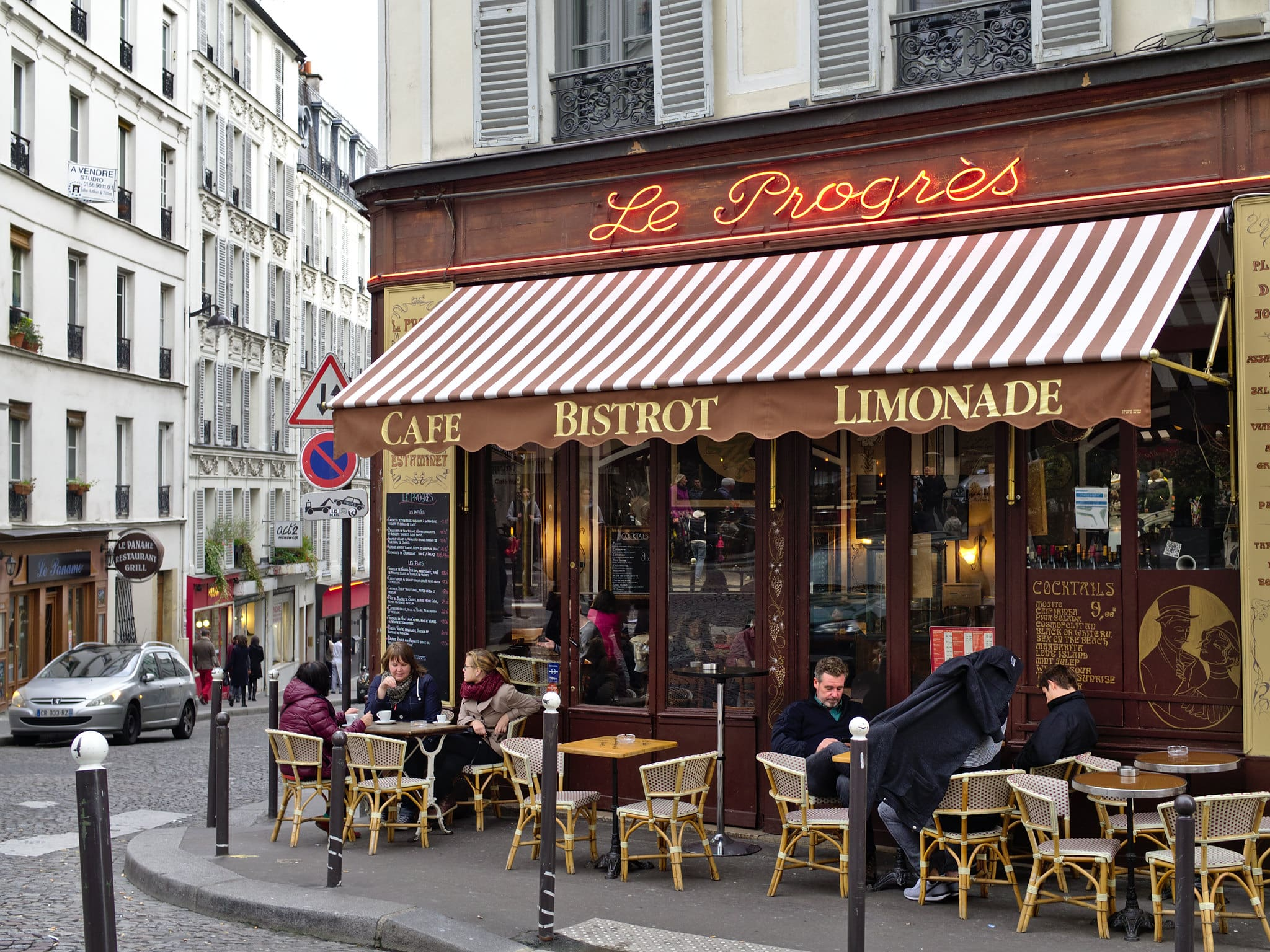 People-watching at a Parisian cafe is a classic thing to do in France