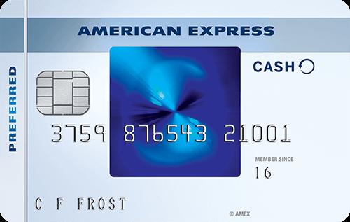 AmEx Blue Cash Preferred card
