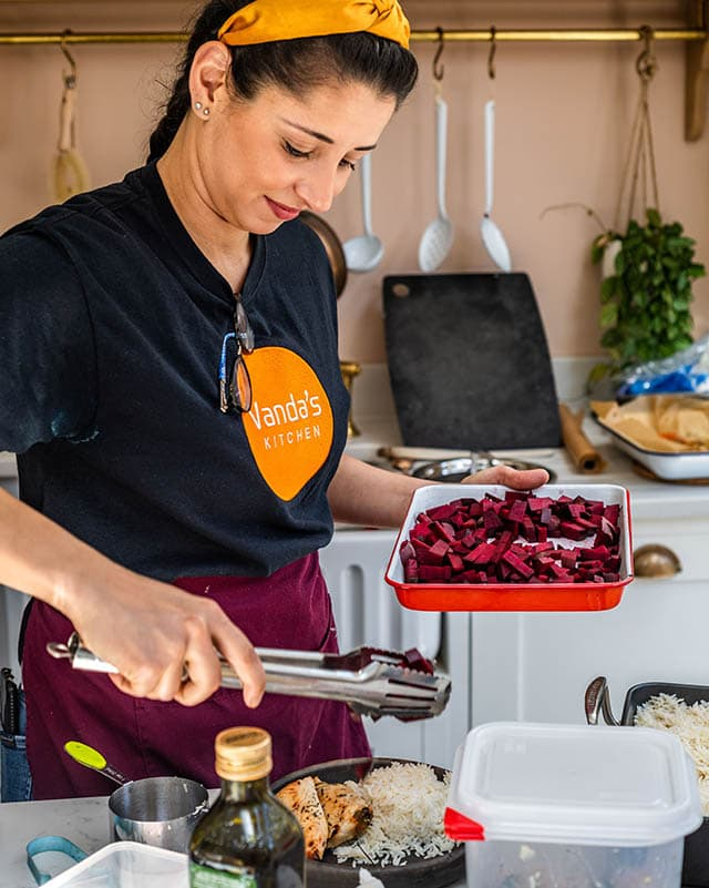 affordable local London chef-prepared ready meals for food delivery within London