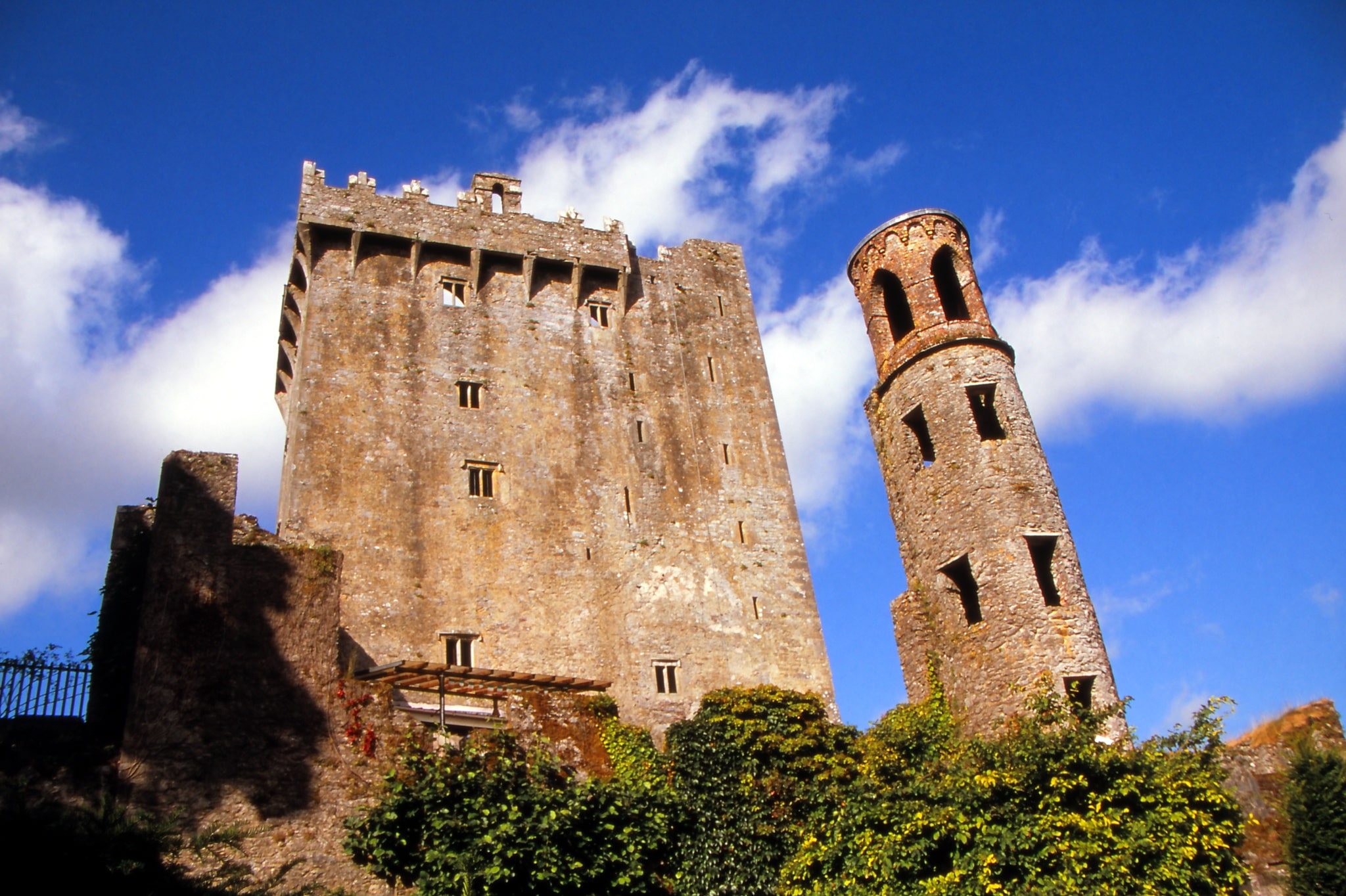 Blarney Castle is a fun place to visit in Ireland