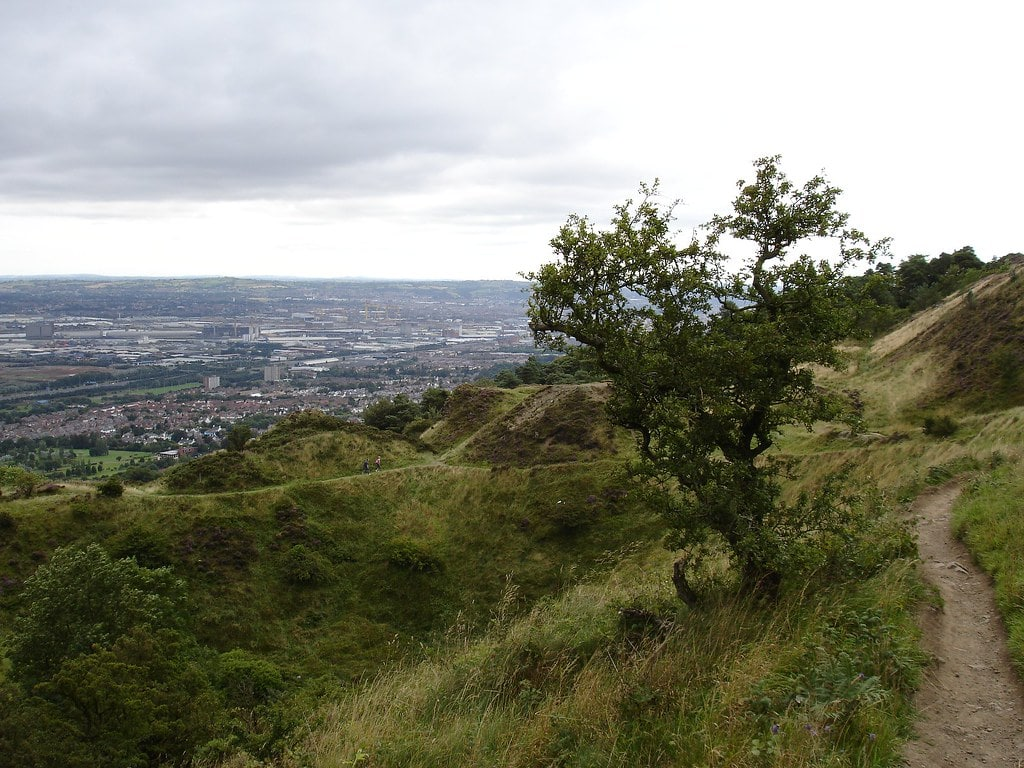 Exploring Cave Hill Country Park is an awesome thing to do in Belfast Ireland