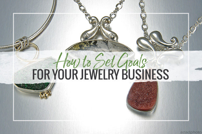 Read 2011 Halstead Grant Winner Layne Freedline's best tips on setting goals for your jewelry business and how the Halstead Grant helped her reach them.