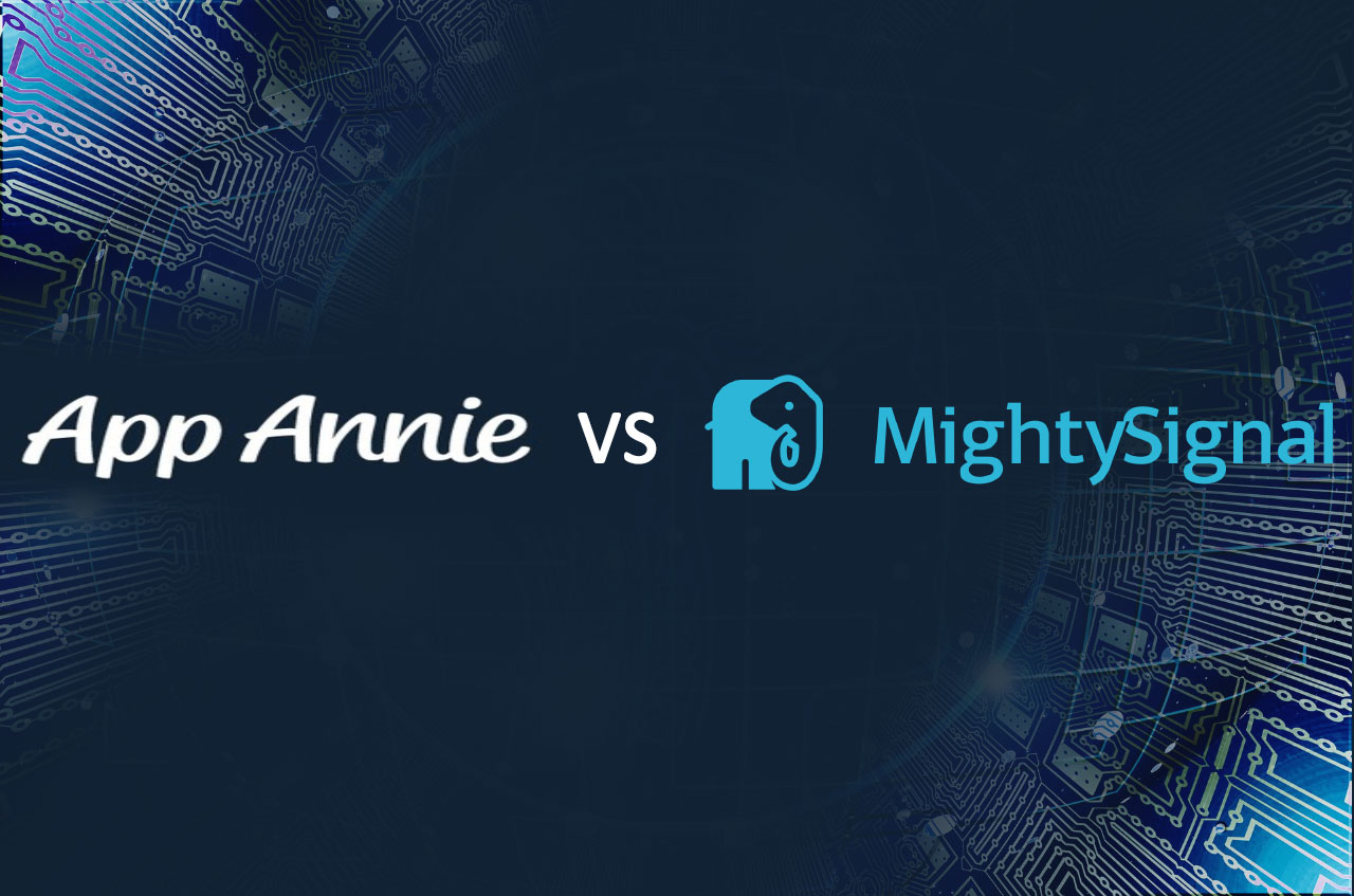 How does App Annie compare to MightySignal?