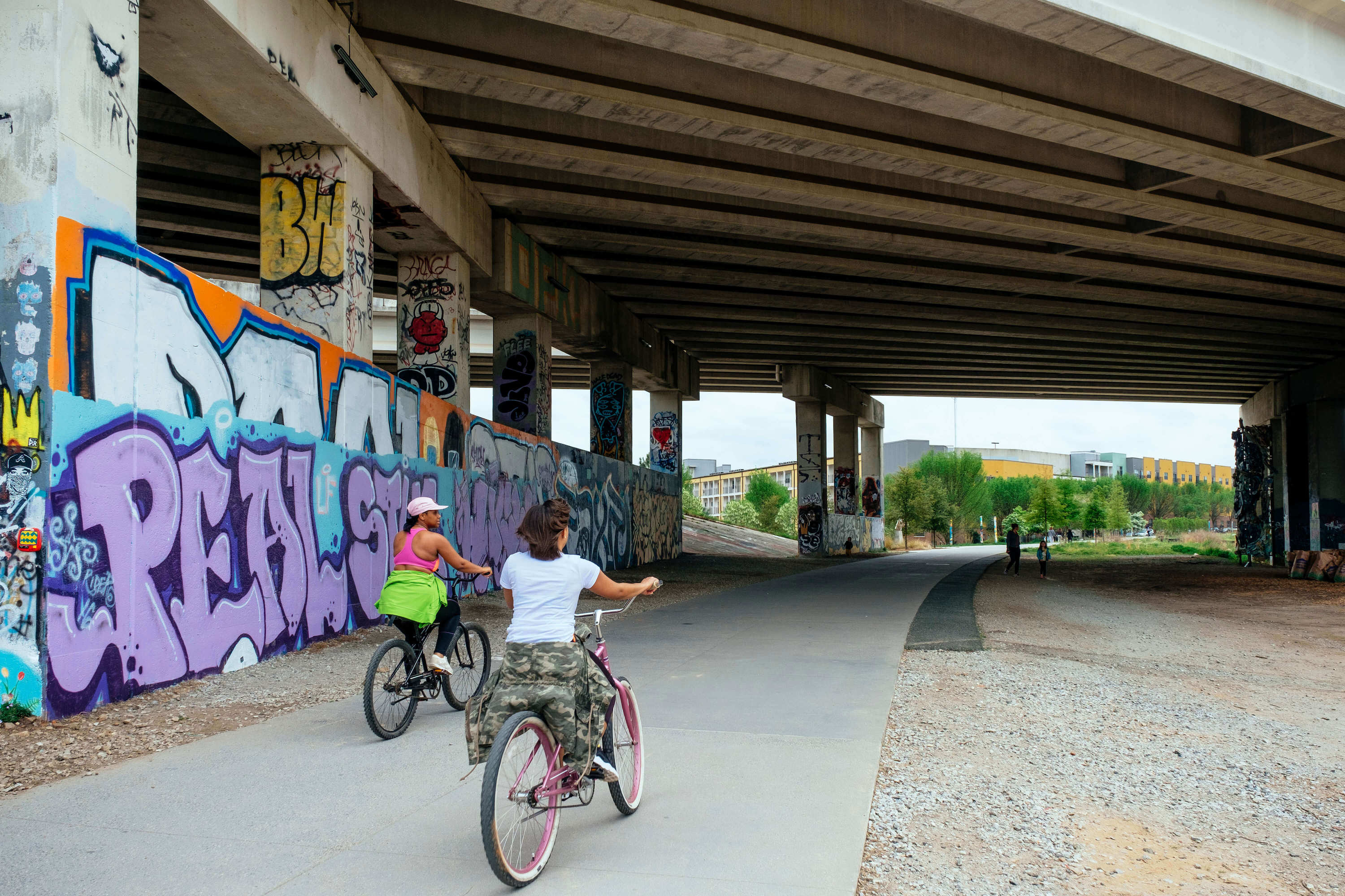 women-biking-in-atlanta