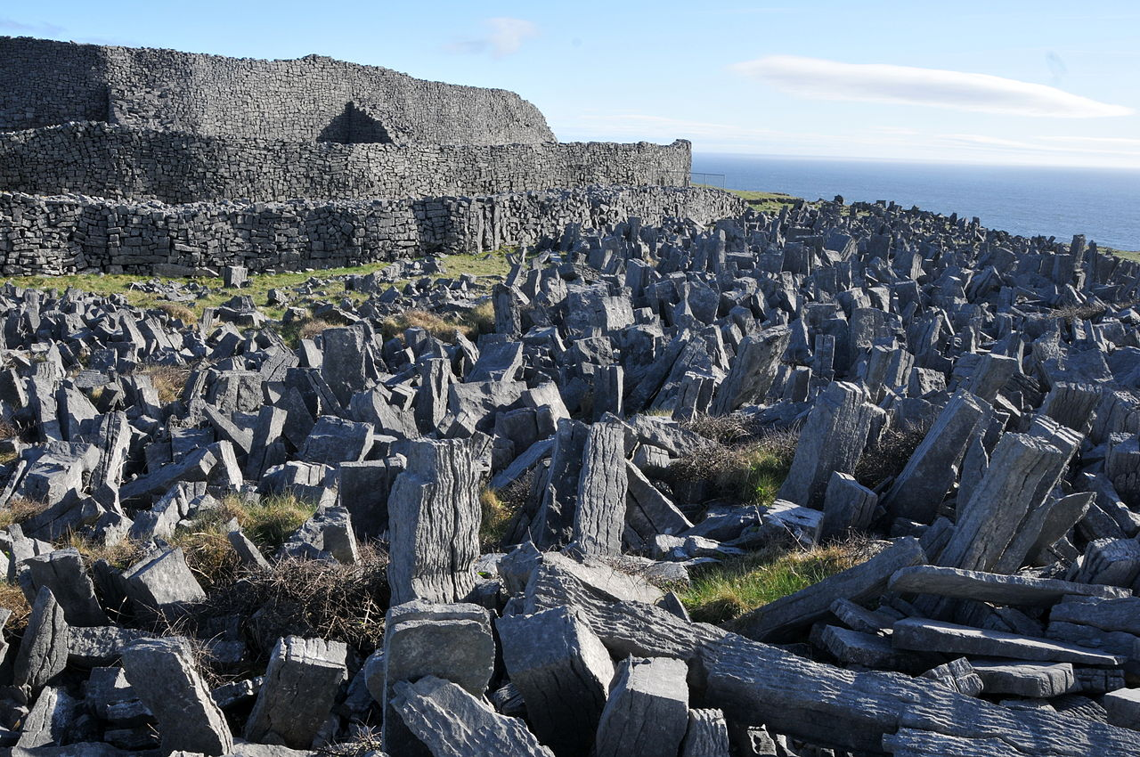 Dun Aonghasa is off the beaten path in Ireland