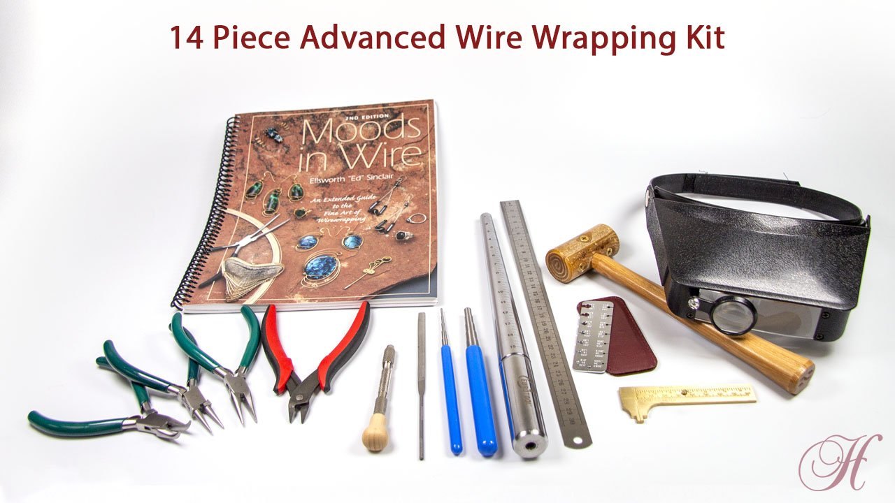 14 piece advanced wire wrapping kit