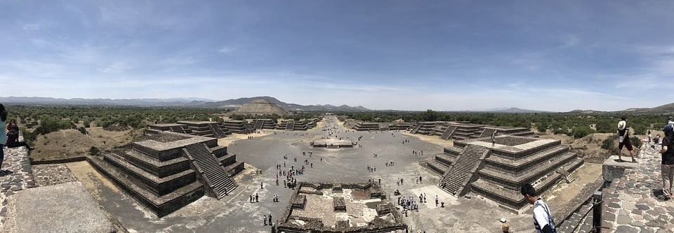 History buffs should visit the Pyramids of Teotihuacan on their Mexico City vacation
