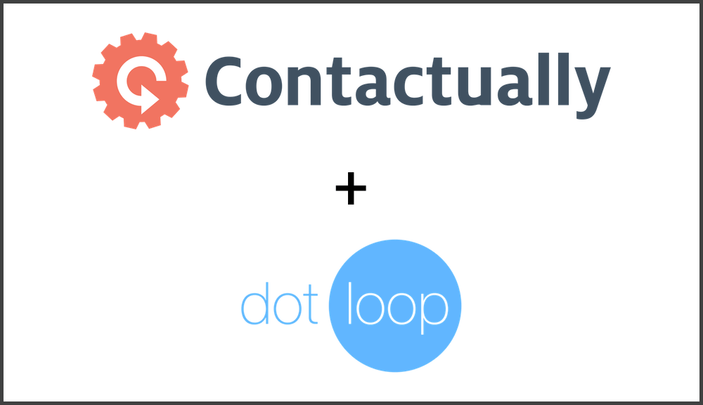Contactually Has Partnered With Dotloop To Streamline The Transition
