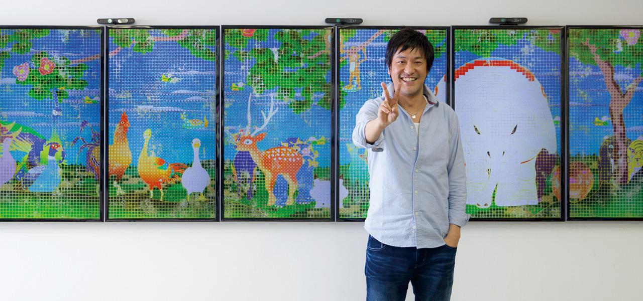 チームラボ 猪子寿之 テクノロジーとアートの融合 新たな価値を世に生み出す