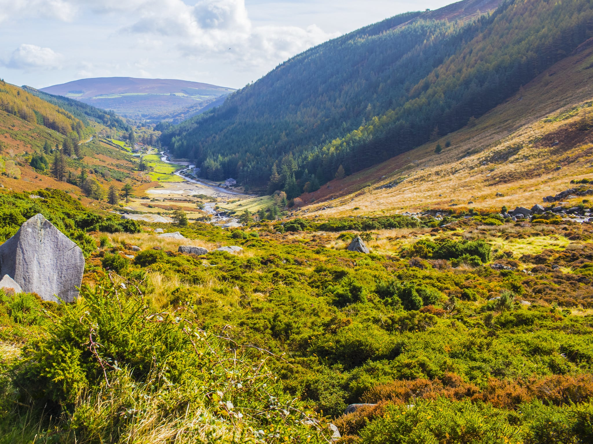 Gorgeous Glendalough is one of the best places to stay in Ireland