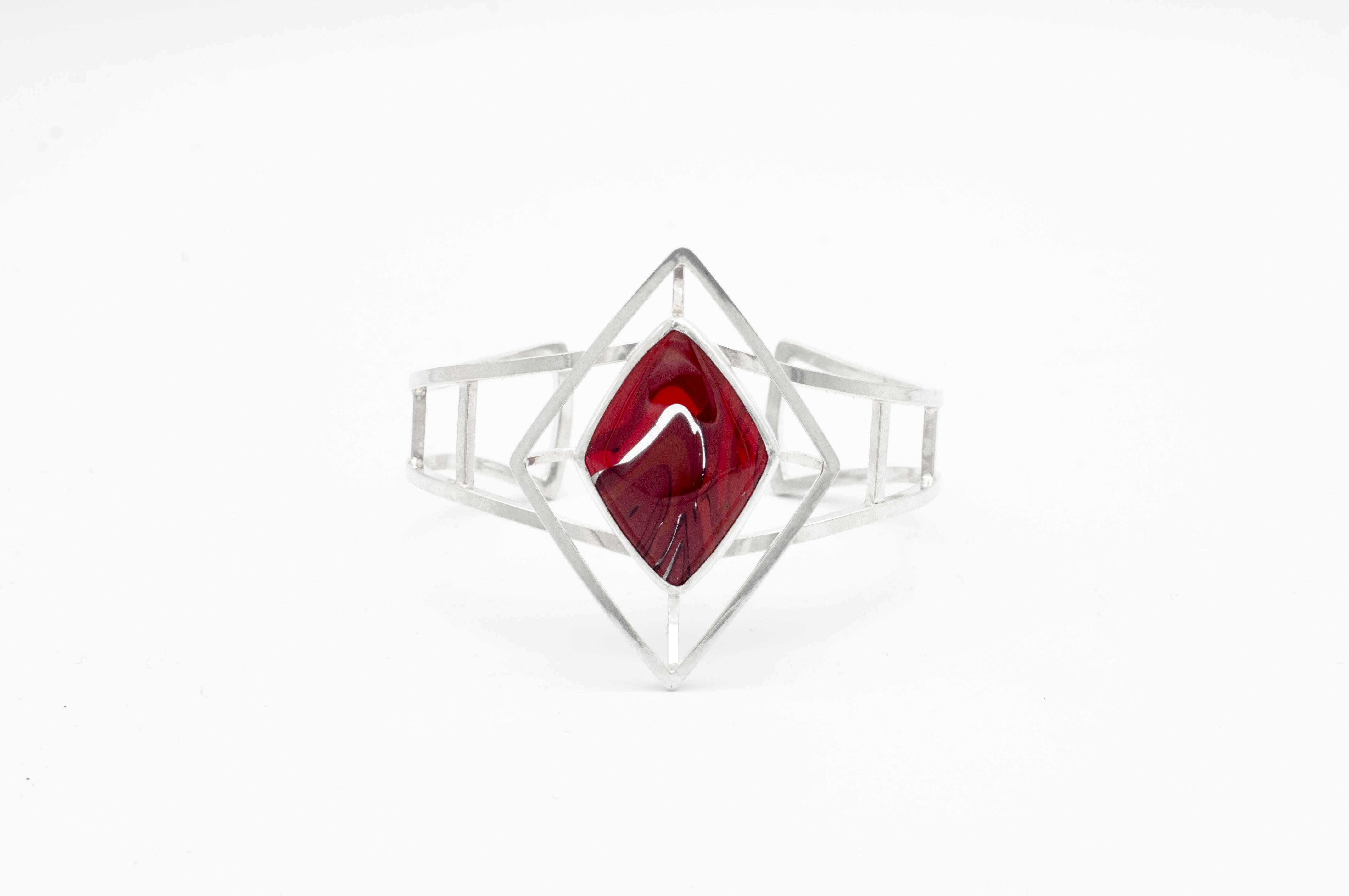 Rosarita cuff by Emma Elizabeth Jewelry