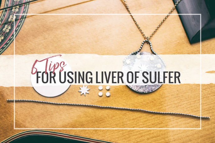 Liver of sulfur is perfect for adding oxidized patinas to your brass, copper or silver jewelry designs. Learn our top tips for getting the best results.