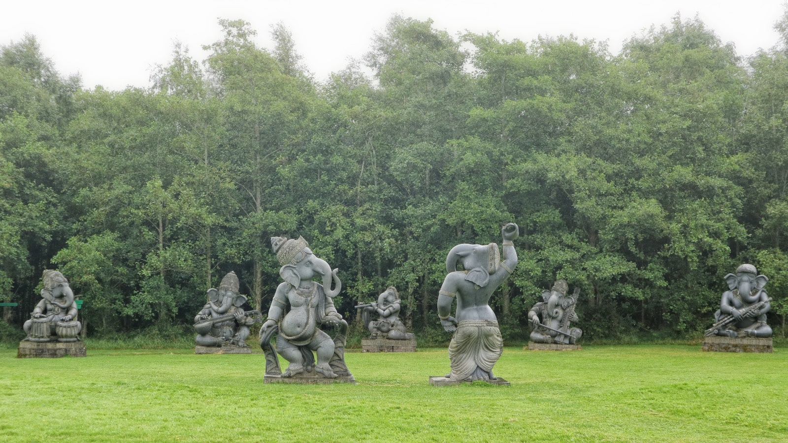 Victor's Way Indian Sculpture Park is off the beaten path in Ireland