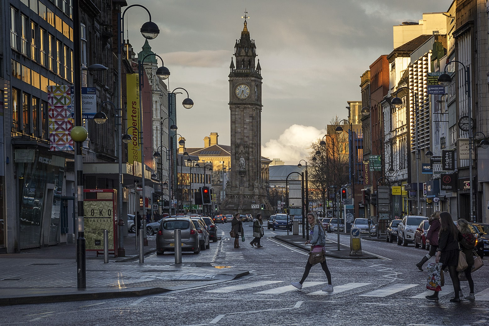 Belfast is a beautiful place to visit in ireland