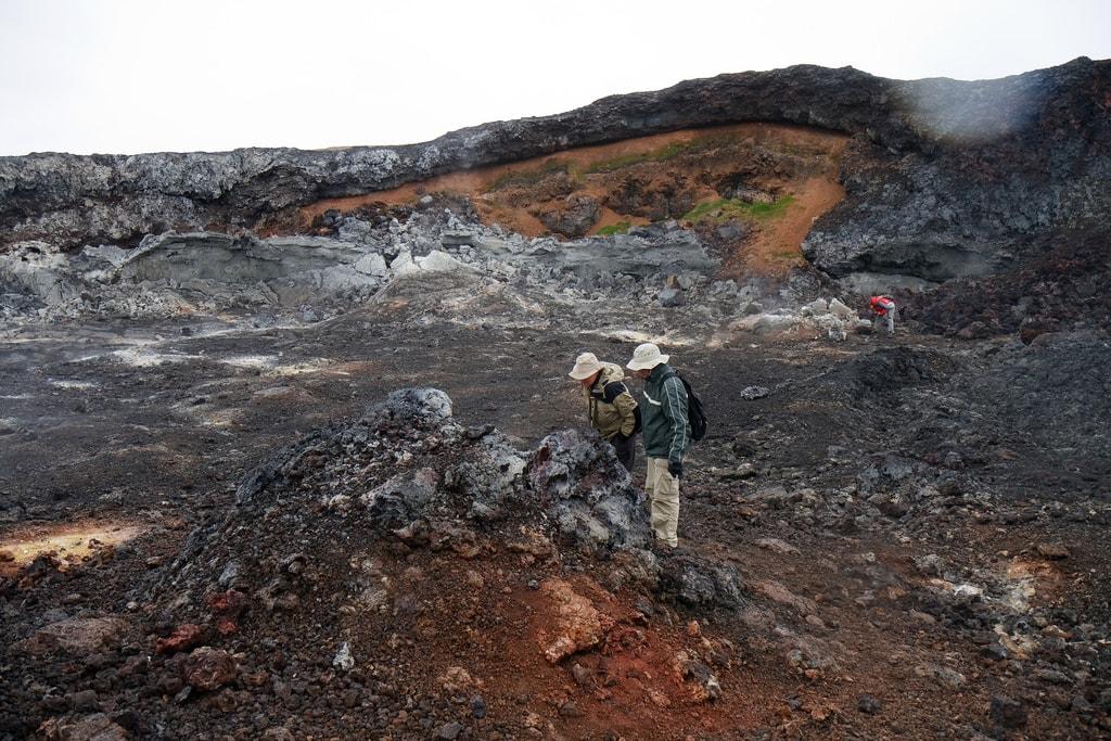 travel to iceland leirhnjukur lava fields