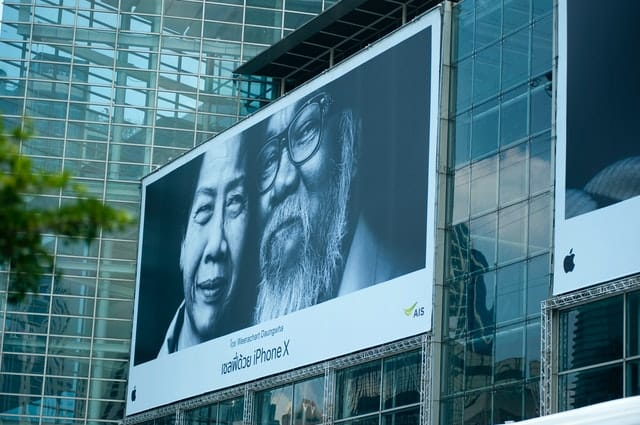 Photo: Billboard advertising