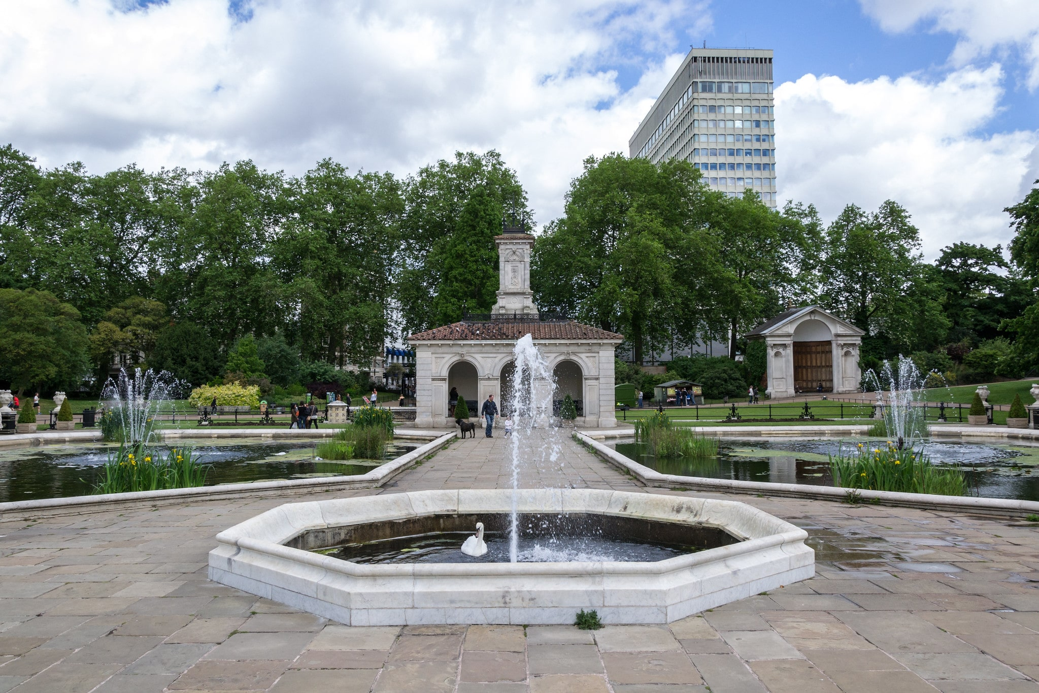 Hyde Park is a gorgeous place to visit in London